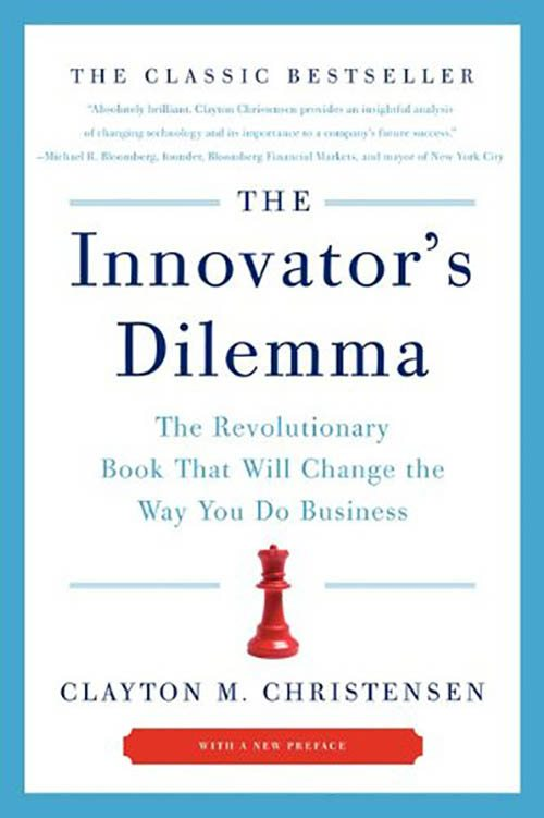Carti de marketing Austral Blog Al Ries Innovator's Dilemma - Clayton M. Christensen